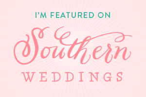 You And I Pictures featured on Southern Weddings Magazine Blog